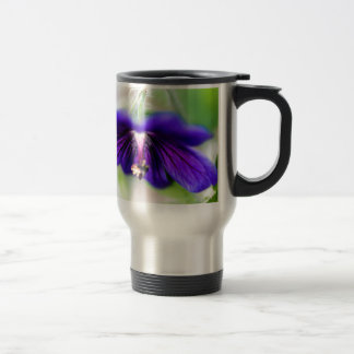Run flower travel mug