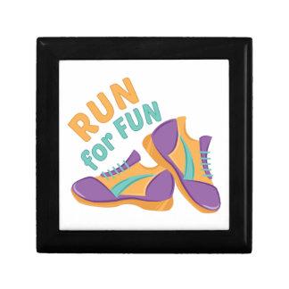Run For Fun Keepsake Box
