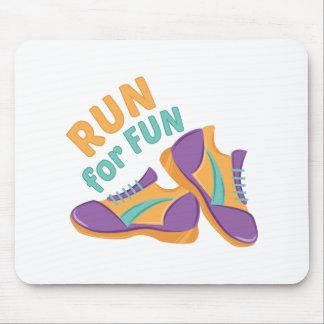 Run For Fun Mouse Pad