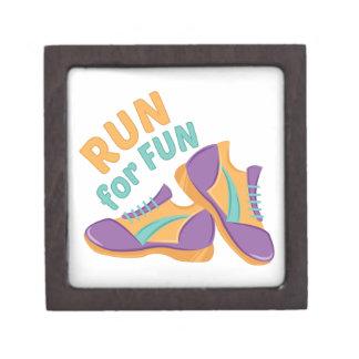 Run For Fun Premium Jewelry Boxes