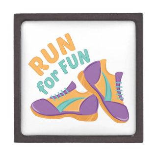 Run For Fun Premium Keepsake Box