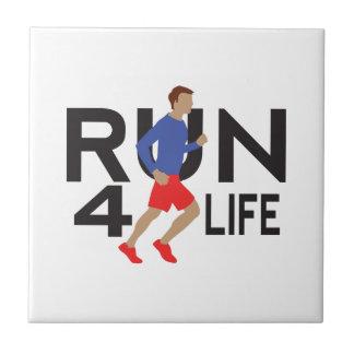 run for life ceramic tiles