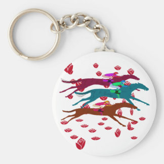Run for the Roses 2016 Horse Racing Keychain