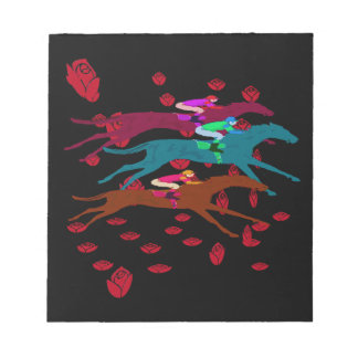 Run for the Roses 2016 Horse Racing Notepad