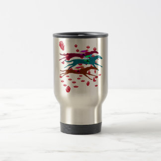 Run for the Roses 2016 Horse Racing Travel Mug