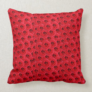 Run for the Roses Throw Pillow