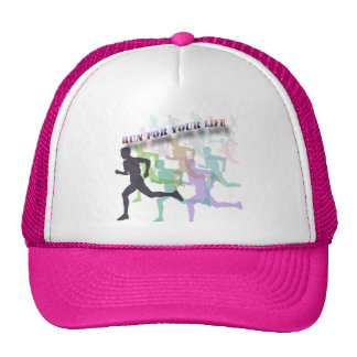 RUN FOR YOUR LIFE HATS