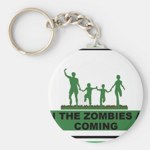 RUN FOR YOUR LIFE KEY CHAINS