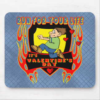 Run For Your Life Mouse Pad