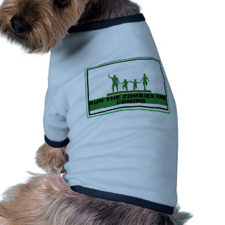 RUN FOR YOUR LIFE PET TSHIRT