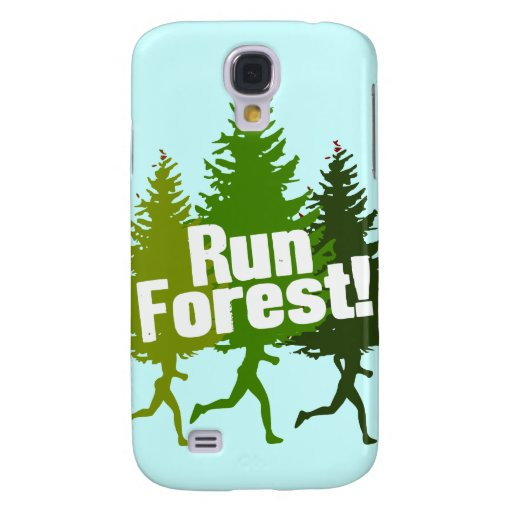 Run Forest, Protect the Earth Day Galaxy S4 Covers