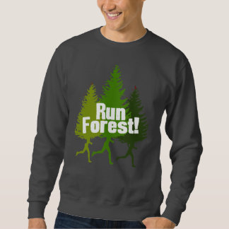 Run Forest, Protect the Earth Day Sweatshirt