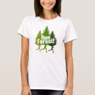 Run Forest, Protect the Earth Day T-Shirt