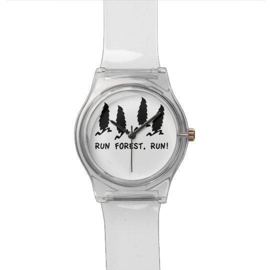 Run Forest Run!  90s Humor Wrist Watch