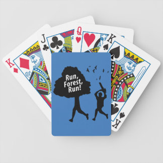 Run Forest Run Bicycle Playing Cards