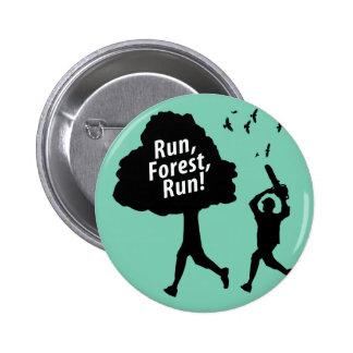 Run Forest Run Pinback Button