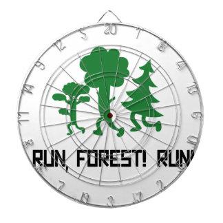 Run, Forest! RUN! Dartboard