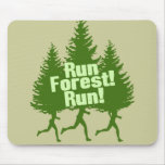 Run Forest Run Mouse Pad