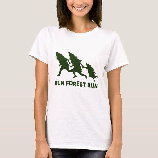 Run forest run t shirt zazzle for I run for meg shirts