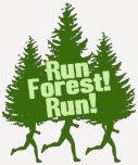Run Forest Run Tee Shirts