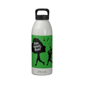 Run Forest Run Reusable Water Bottle