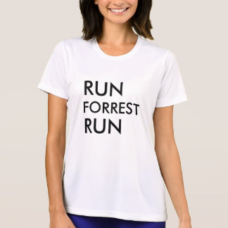 Run forrest run women activewear T-shirt