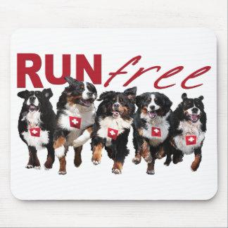 Run Free Berner mousepad