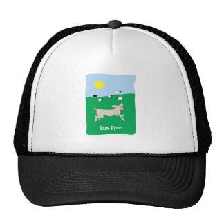 Run Free Dog - Paw of Attraction Mesh Hats
