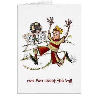 Run Fun Shoot The Ball Cards