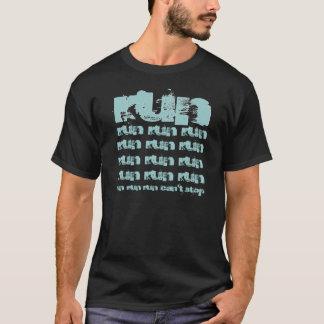 RUN Funny Any Hobby Gift Custom Name V06 T-Shirt