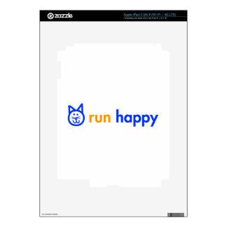 run-happy-cat-blue.png iPad 3 skins