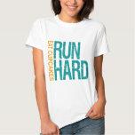 Run Hard Eat Cupcakes Tee Shirt