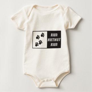 Run HutHut Run 2 Baby Bodysuit