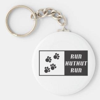 Run HutHut Run 2 Keychain