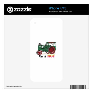 Run It Hot Skins For The iPhone 4