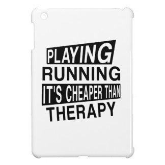 RUN It Is Cheaper Than Therapy iPad Mini Covers