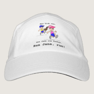 Run Jane Run! Headsweats Hat