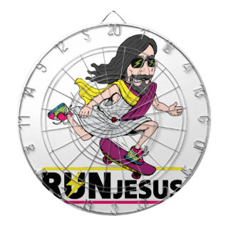 Run Jesus Dart Board