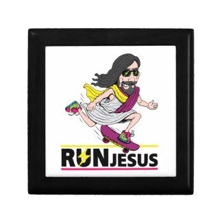 Run Jesus Keepsake Box