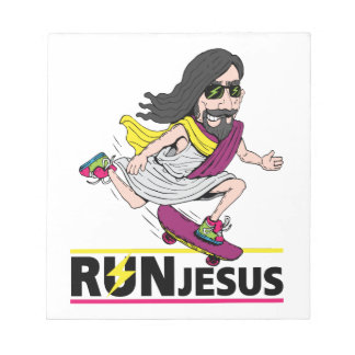 Run Jesus Notepad