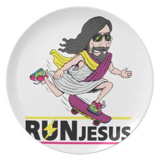 Run Jesus Plate