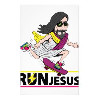 Run Jesus Stationery