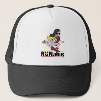 Run Jesus Trucker Hat