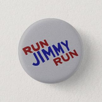 Run Jimmy Run Pinback Button