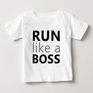 Run Like A Boss Tee Shirt