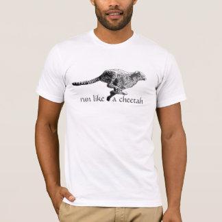 Run Like A Cheetah T-Shirt