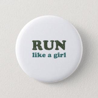 Run like a girl button