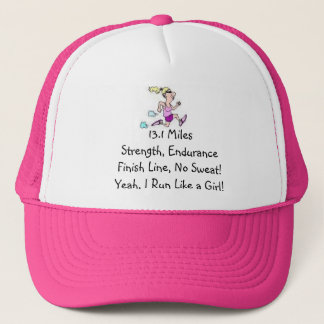Run Like a Girl! Trucker Hat