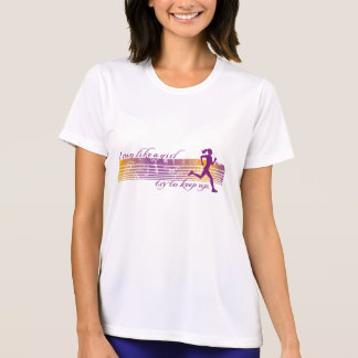 run like a girl tshirts