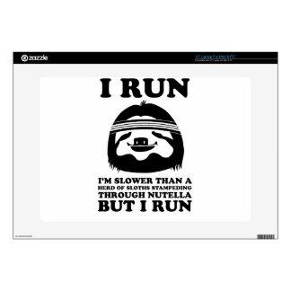 Run Like A Sloth Laptop Skins